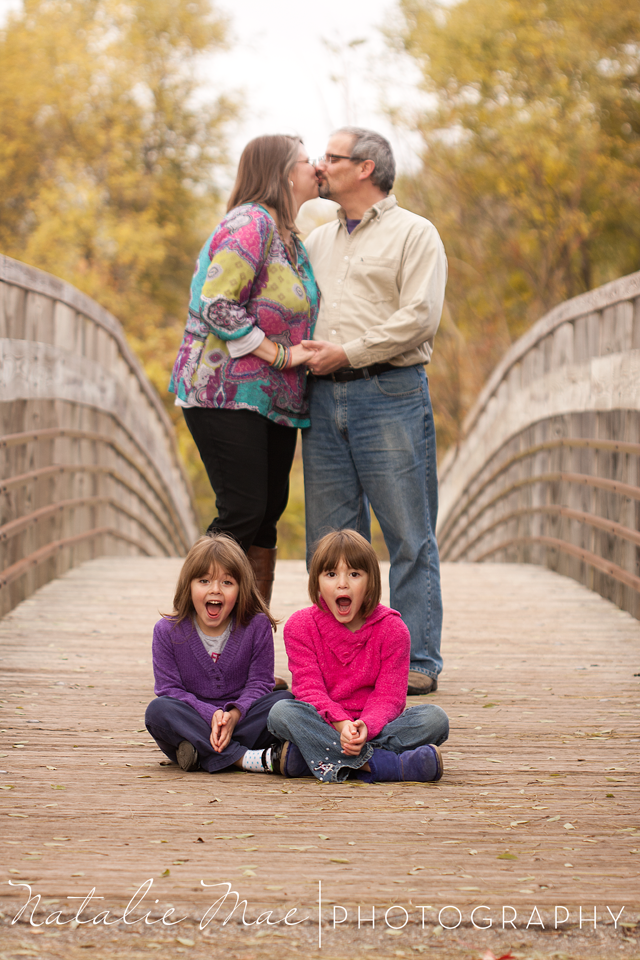 Ann Arbor family photographer captures the funny side of the B Family